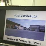 ジャカルタのサントリーの工場に行ってきました