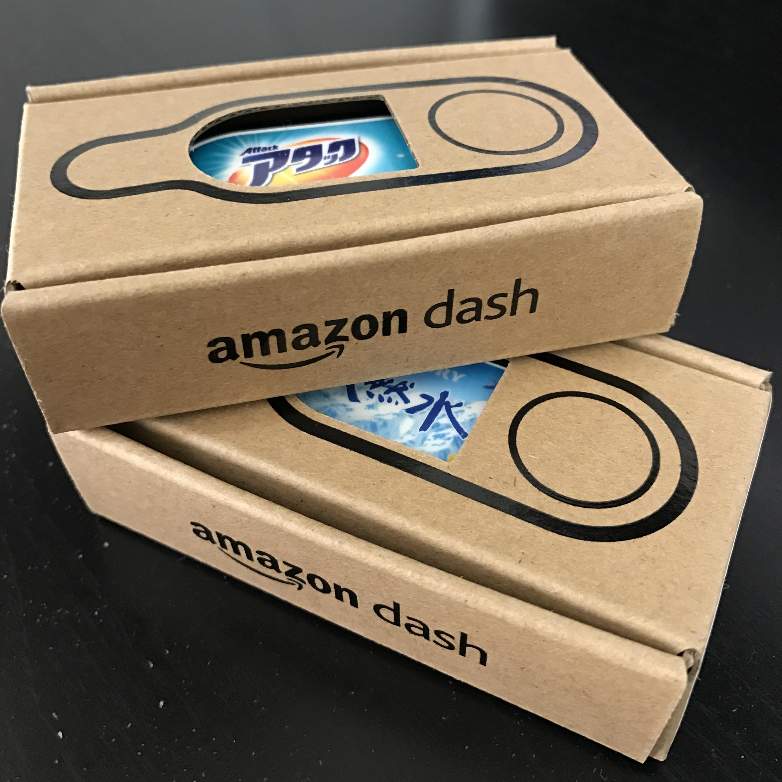 アマゾンダッシュボタン箱