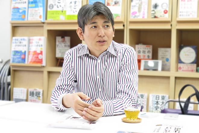 著者インタビュー『超速片づけ仕事術』(かんき出版)